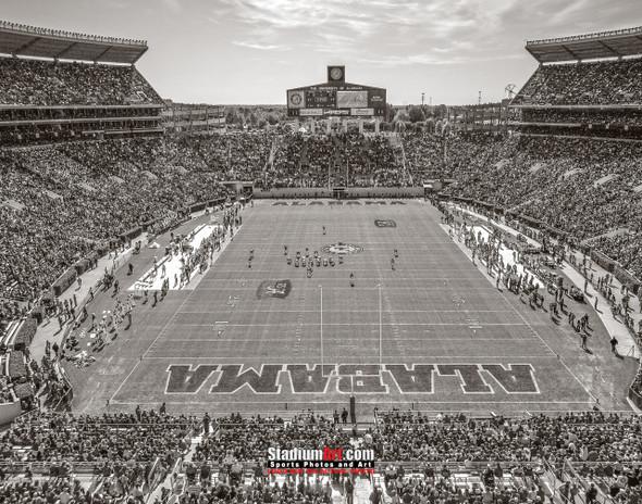 Alabama Crimson Tide Bryant EZ Bryant-Denny Stadium NCAA College Football Photo 7bw 8x10-48x36