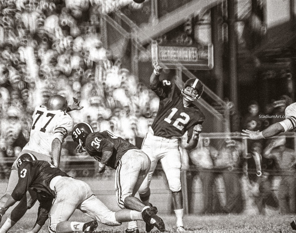 Joe Namath Alabama Crimson Roll Tide College Football Photo 51 8x10-48x36