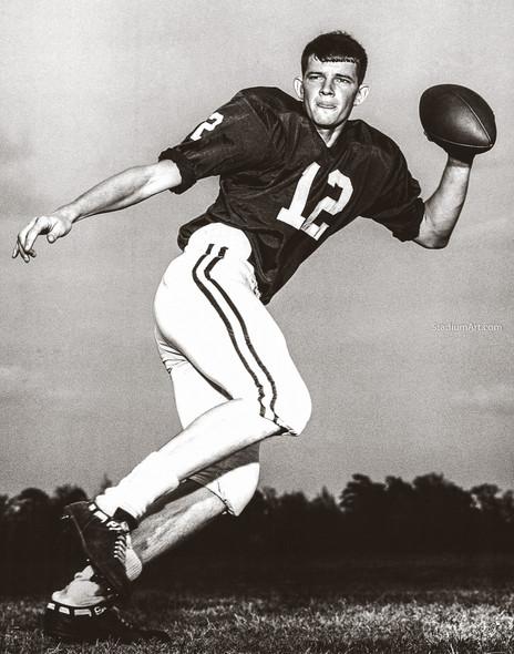Kenny Stabler Alabama Crimson Roll Tide College Football Photo 51 8x10-48x36