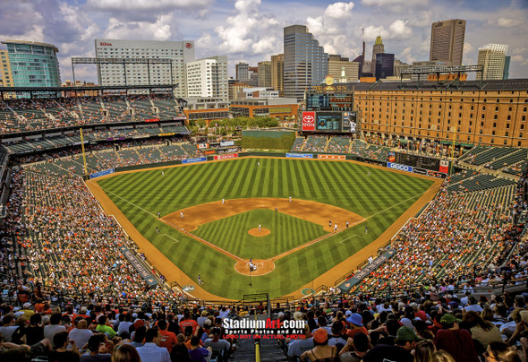 Baltimore Orioles Camden Yards MLB Baseball Photo 01  8x10-48x36