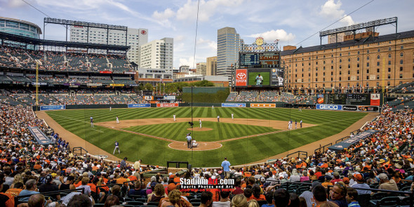 Baltimore Orioles Camden Yards MLB Baseball Photo 02  8x10-48x36