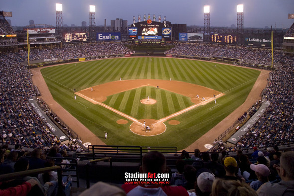 Chicago White Sox MLB Baseball Stadium Photo 01 8x10-48x36