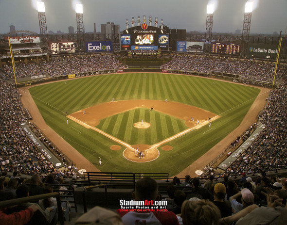 Chicago White Sox MLB Baseball Stadium Photo 02 8x10-48x36