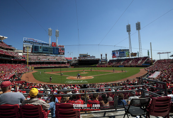 Cincinnati Reds Great American Ball Park Ballpark MLB Baseball Stadium Photo 05 8x10-48x36