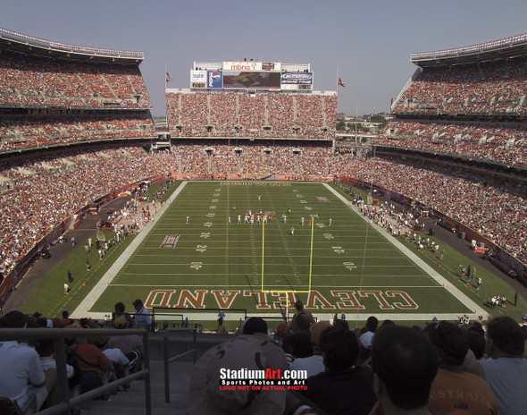 Cleveland Browns Football Stadium Photo Print 01 8x10-48x36