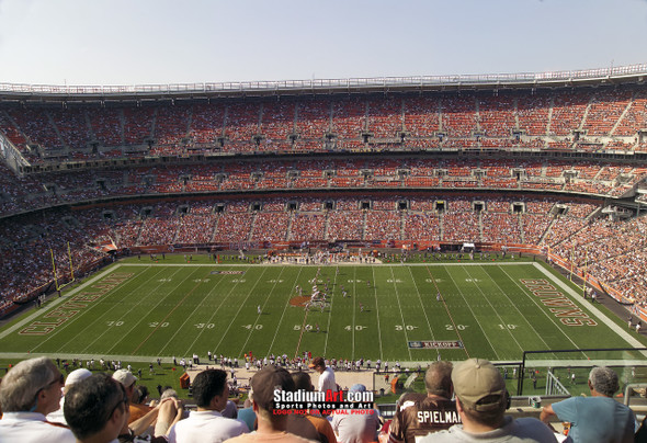 Cleveland Browns Football Stadium Photo Print 02 8x10-48x36