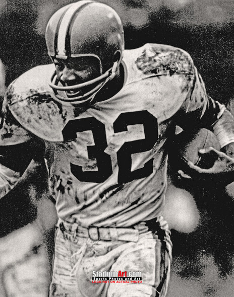 Cleveland Browns Jim Brown Football Photo Print 04 8x10-48x36