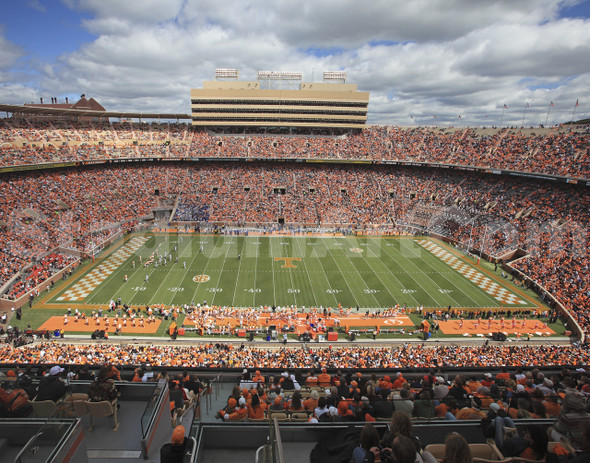 Tennessee Volunteers Neyland Stadium 02 Vols 11x14