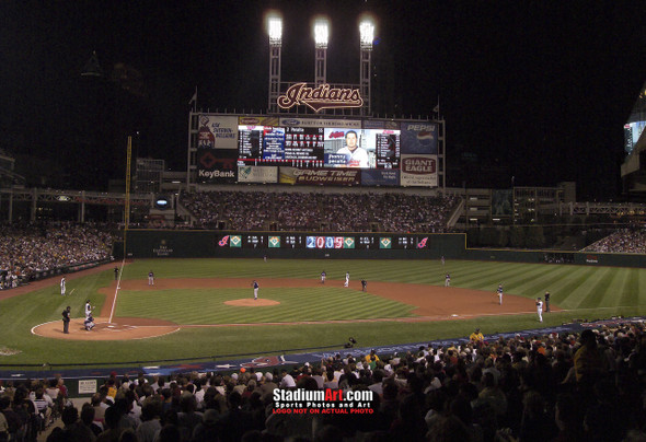 Cleveland Indians Photo Print 02 8x10-48x36