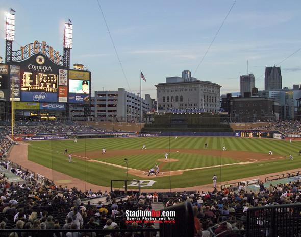 Detroit Tigers Comerica Park Baseball Stadium Photo Print 02 8x10-48x36