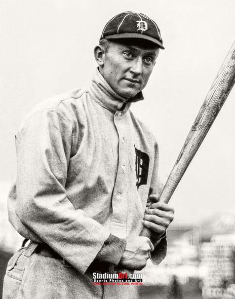 Detroit Tigers Ty Cobb Baseball Photo Print 52 8x10-48x36
