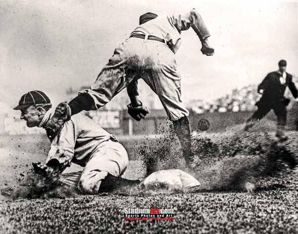 Detroit Tigers Ty Cobb Baseball Photo Print 56 8x10-48x36