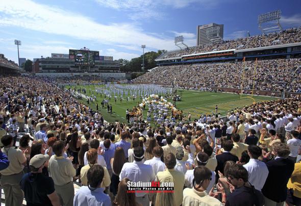 Georgia Tech Yellow Jackets Bobby Dodd Stadium Photo 8x10-48x36 Print 01