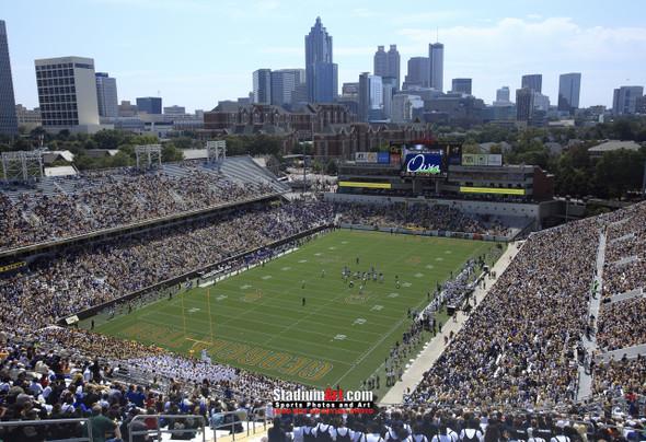 Georgia Tech Yellow Jackets Bobby Dodd Stadium Photo 8x10-48x36 Print 03