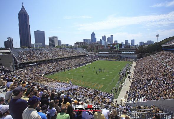 Georgia Tech Yellow Jackets Bobby Dodd Stadium Photo 8x10-48x36 Print 04