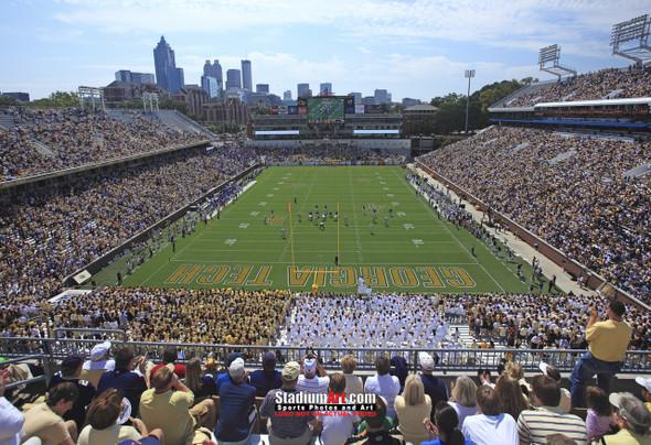 Georgia Tech Yellow Jackets Bobby Dodd Stadium Photo 8x10-48x36 Print 05