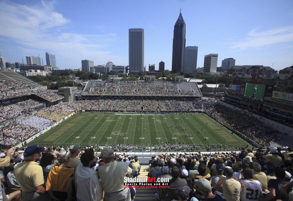 Georgia Tech Yellow Jackets Bobby Dodd Stadium Photo 8x10-48x36 Print 07