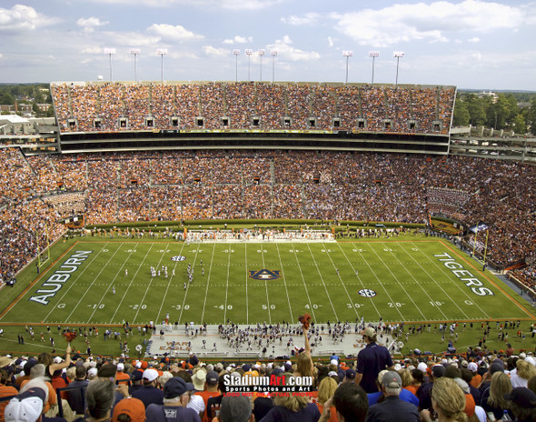 Auburn Tigers Jordan Hare Football Stadium Photo 8x10-48x36 Print 05