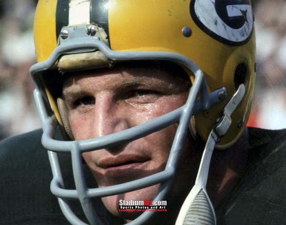Green Bay Packers Ray Nitschke Football 8x10-48x36 Photo Print 50