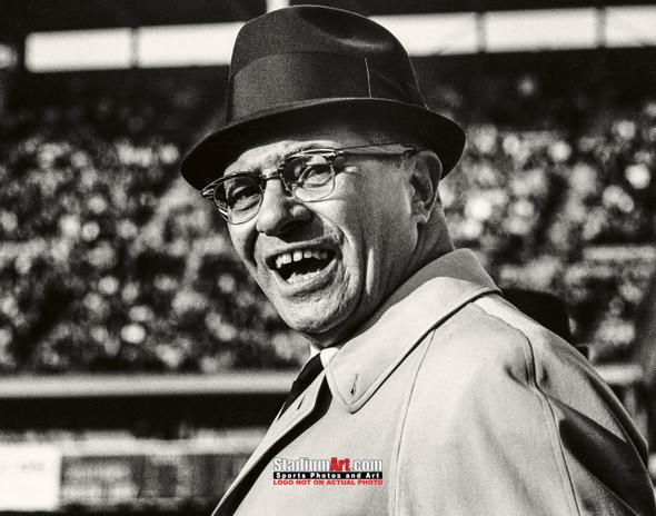 Green Bay Packers Vince Lombardi Football 8x10-48x36 Photo Print 56
