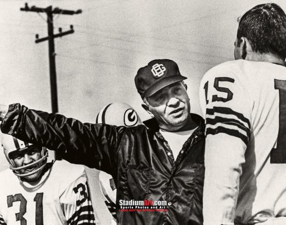 Green Bay Packers Vince Lombardi Football 8x10-48x36 Photo Print 73