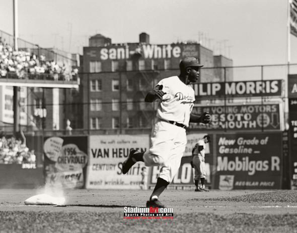 Los Angeles Dodgers Jackie Robinson LA Brooklyn Baseball 8x10-48x36 Photo Print 52