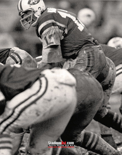 New York Jets Joe Namath NFL Football Photo Art Print 8x10 or 11x14 or 40x30 StadiumArt.com Sports Photos