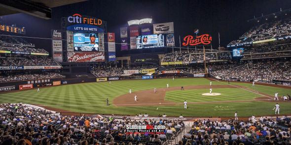 New York Mets Citi Field NY Baseball Stadium Photo Art Print 13x26 StadiumArt.com Sports Photos