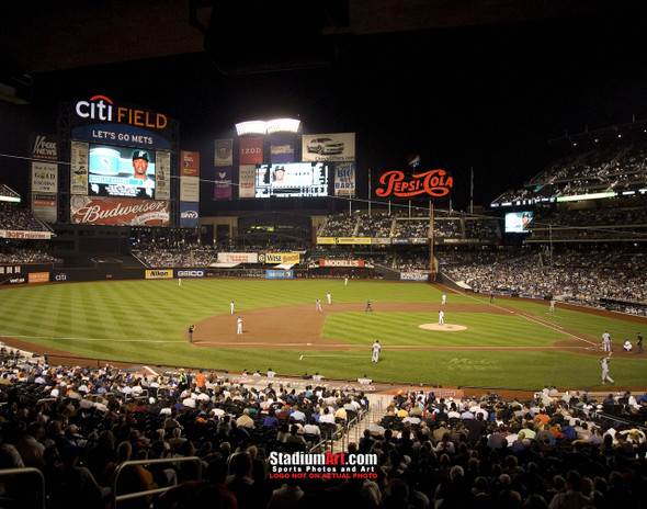 New York Mets Citi Field NY Baseball Stadium Photo Art Print 8x10 or 11x14 or 40x30 StadiumArt.com Sports Photos
