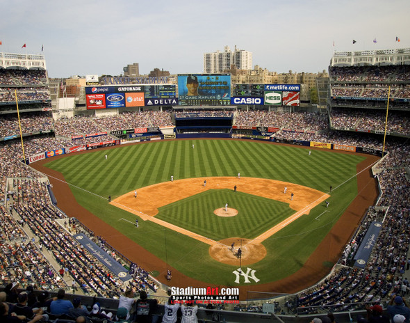 New York Yankees NY Yankee Stadium Baseball Field Photo Art Print 8x10 or 11x14 or 40x30 StadiumArt.com Sports Photos