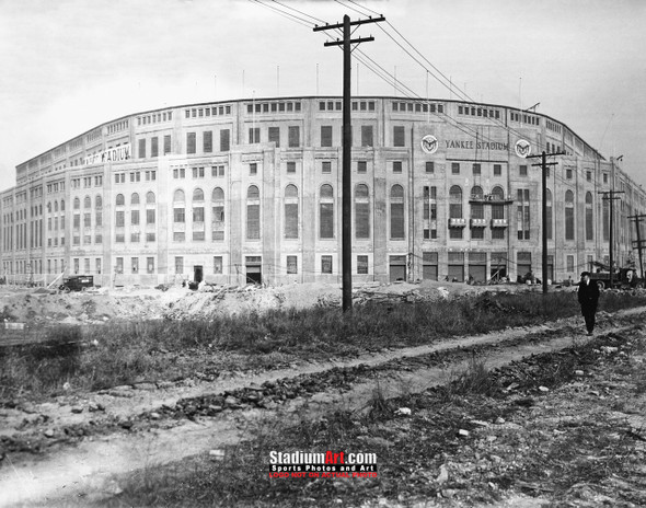 New York Yankees NY Old Yankee Stadium Baseball Field Photo Art Print 8x10 or 11x14 or 40x30 StadiumArt.com Sports Photos