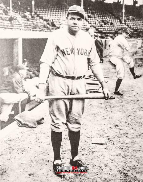 New York Yankees Babe Ruth NY Baseball Photo Art Print 8x10 or 11x14 or 40x30 StadiumArt.com Sports Photos