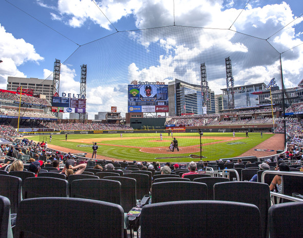 Atlanta Braves SunTrust Park New Baseball Stadium 04 MLB 8x10-48x36 CHOICES