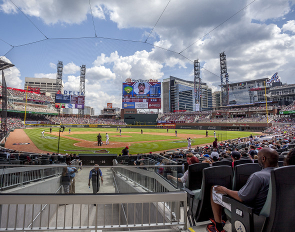 Atlanta Braves SunTrust Park New Baseball Stadium 06 MLB 8x10-48x36 CHOICES