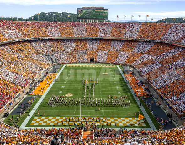 Tennessee Volunteers Neyland Stadium 03 11x14
