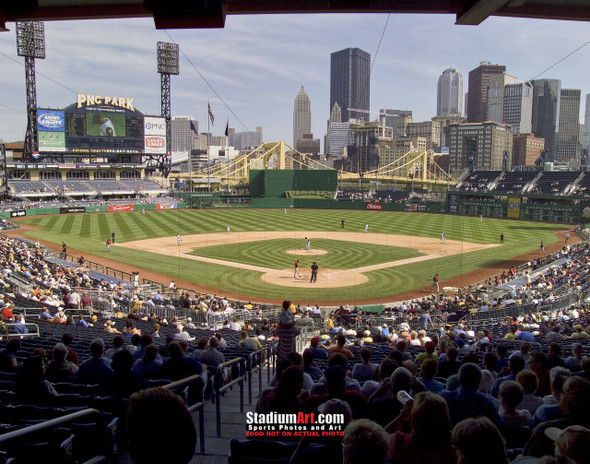 Pittsburgh Pirates PNC Park Baseball Stadium Photo Art Print 8x10 or 11x14 or 40x30 StadiumArt.com Sports Photos