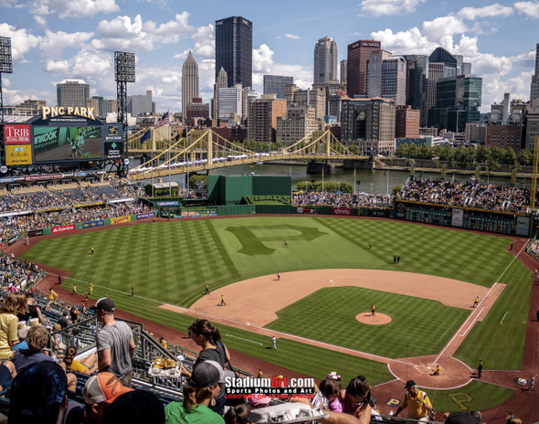Pittsburgh Pirates PNC Park Baseball Stadium Photo Print by Joshua Peacock 8x10 or 11x14 or 40x30 StadiumArt.com Sports Photos