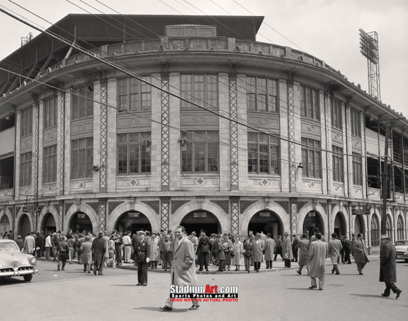Pittsburgh Pirates Forbes Field Baseball Stadium Photo Art Print 8x10 or 11x14 or 40x30 StadiumArt.com Sports Photos
