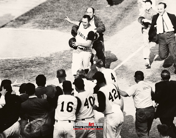 Pittsburgh Pirates Bill Mazeroski Baseball Player Photo Art Print 8x10 or 11x14 or 40x30 StadiumArt.com Sports Photos