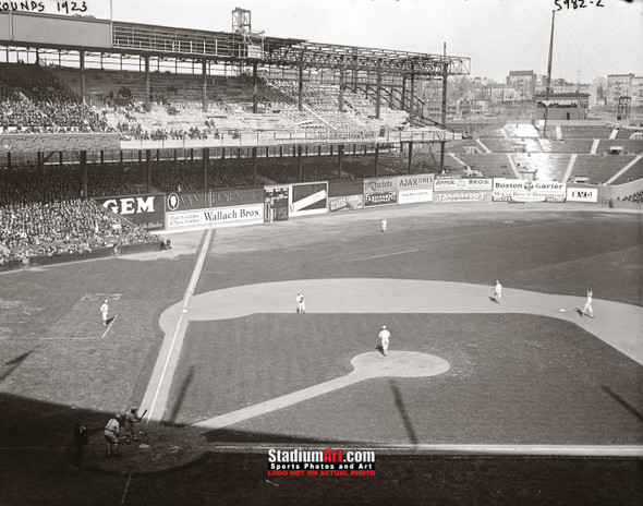 Polo Grounds Baseball Stadium New York Photo Art Print 13x19 or 24x36 StadiumArt.com Sports Photos