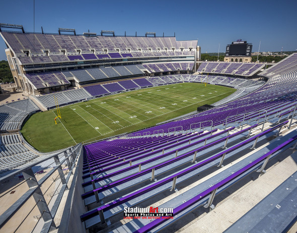 TCU Horned Frogs Football Stadium Texas Christian University Photo Art Print 8x10 or 11x14 or 40x30 StadiumArt.com Sports Photos