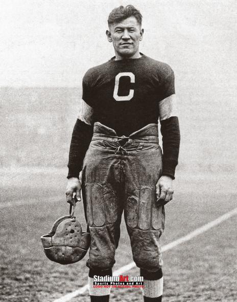 Jim Thorpe Football Standing 8x10 or 11x14 or 40x30 photo StadiumArt.com Sports Photos