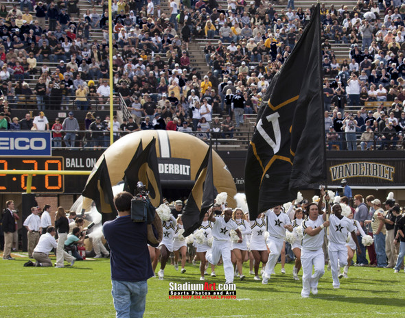 Vanderbilt Football Stadium Vandy Commodores Dudley Field 8x10 or 11x14 or 40x30 photo StadiumArt.com Sports Photos
