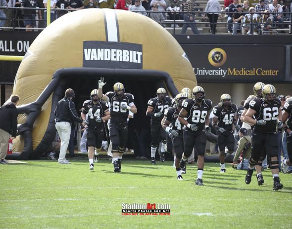Vanderbilt Football Stadium Vandy Commodores Dudley Field 8x10 or 11x14 or 40x30 photo StadiumArt.com Sports Photos