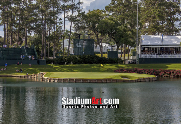 Sawgrass TPC Golf Hole  17 Tournament Players Club  8x10-48x36 Photo Print 1250