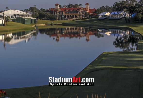 Sawgrass TPC Golf Hole  18 Tournament Players Club  8x10-48x36 Photo Print 1310