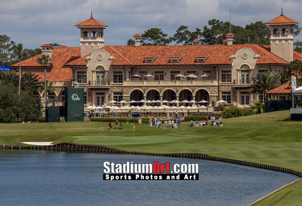 Sawgrass TPC Golf Hole  18 Tournament Players Club  8x10-48x36 Photo Print 1320
