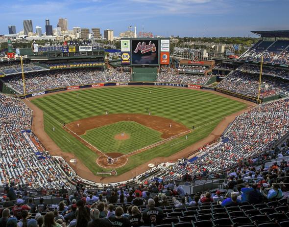 Atlanta Braves Turner Field Baseball Stadium 05 MLB 8x10-48x36 CHOICES