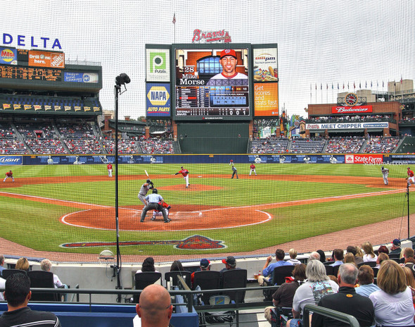 Atlanta Braves Turner Field Baseball Stadium 08 MLB 8x10-48x36 CHOICES