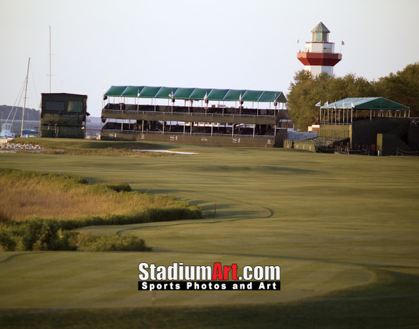 Harbour Town Golf Links at The Sea Pines Resort  Golf Hole 18  8x10-48x36 Photo Print 1240